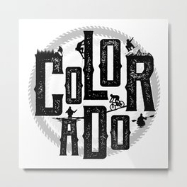 Colorado Playground Metal Print