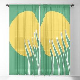 Spring Sun Sheer Curtain