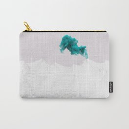 Snowy Mountain Smoke Signal Carry-All Pouch