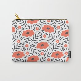 Blooming Pattern Carry-All Pouch