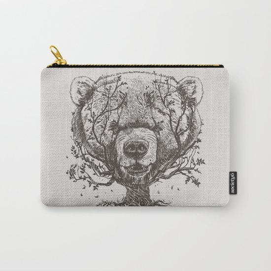 Bear n Tree Carry-All Pouch