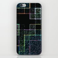 tetris iPhone & iPod Skins featuring Tetris by Audrey Erickson