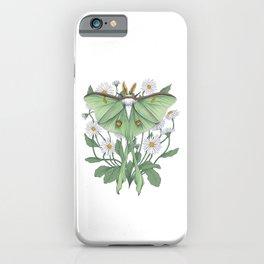 Metamorphosis - Luna Moth iPhone Case