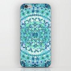 Aqua Mosaic Mandala iPhone & iPod Skin