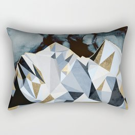 Midnight Peaks Rectangular Pillow