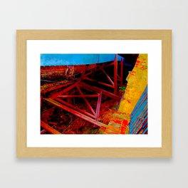 tredegar ironworks Framed Art Print