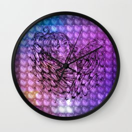 NV: Nakai: patterned Wall Clock