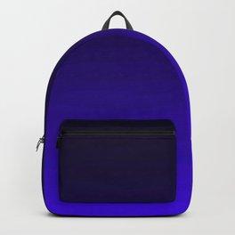 Deep Dark Indigo Ombre Backpack