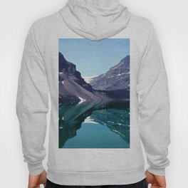Bow Lake Water Reflections in the Canadian Rockies Hoody
