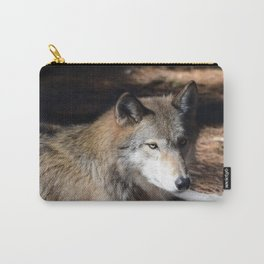 The Eyes of a Wolf Carry-All Pouch