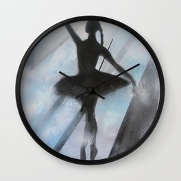 Dancing in Light Wall Clock