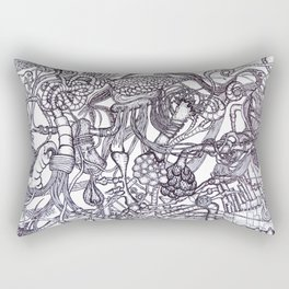 Workings Rectangular Pillow