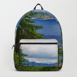 Photo USA Crater Lake national Park Oregon Nature Spruce Mountains Parks Scenery mountain park landscape photography Backpack