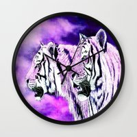 hunting Wall Clocks featuring hunting by arnedayan