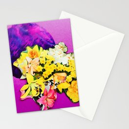 Garden Circle - Violet Stationery Cards