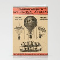 sport Stationery Cards featuring Sport Aeronaute by DAChiemsee