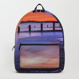 Sunset over Dymchurch Backpack