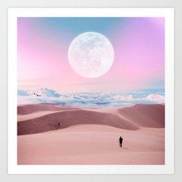 Dunes in the Sky Art Print