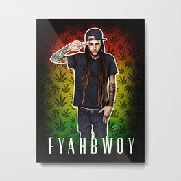 Fyahbwoy Metal Print