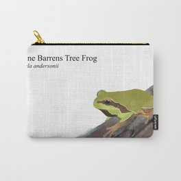 Pine Barrens Tree Frog (Hyla andersonii) on Pitch Pine Log Carry-All Pouch