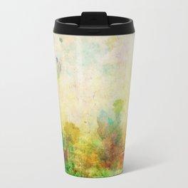 Ginkelmier Land ~ Watercolor Fairy Garden Travel Mug