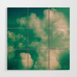 Clouds 01 Color Wood Wall Art