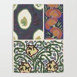 cool retro pattern Poster