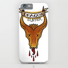 Dragon Slayer iPhone Case