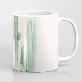 Three Amigos Pink + Green Coffee Mug