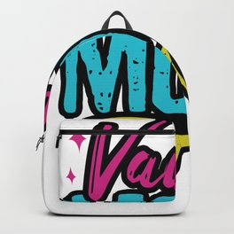 Sunglasses Vacay mode Backpack