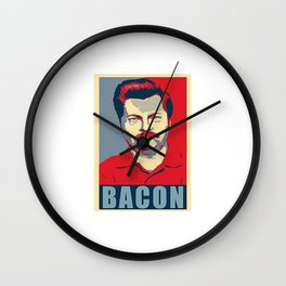 Ron Swanson Parks And Recreation Wall Clock