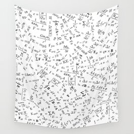 Equation Overload II Wall Tapestry