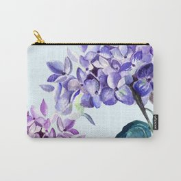 Hydrangea blue hues Carry-All Pouch