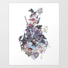 Tiny and Mighty Art Print