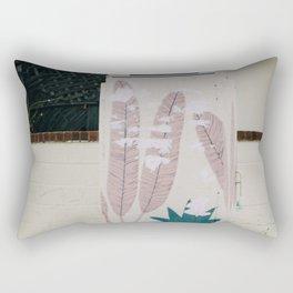 beach feathers Rectangular Pillow
