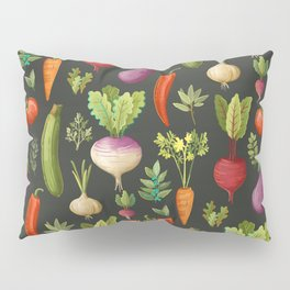 Garden Veggies Pillow Sham
