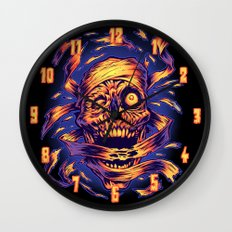 THE MUMMY'S REVENGE Wall Clock