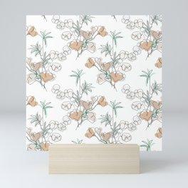 Bamboo, Ginkgo and Cotton Mini Art Print
