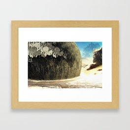 DESERT BIOME Framed Art Print