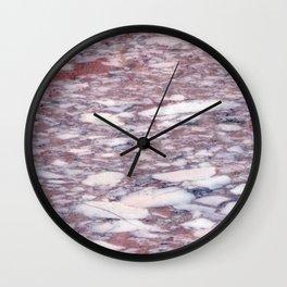 Marble Rosa Norvegia Wall Clock
