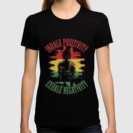 Positive Yoga Meditation Buddha T-shirt