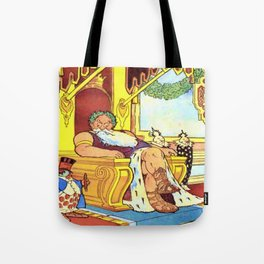 King Morpheus and Flip Tote Bag