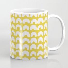 Ceylon Yellow & Half Circles Coffee Mug