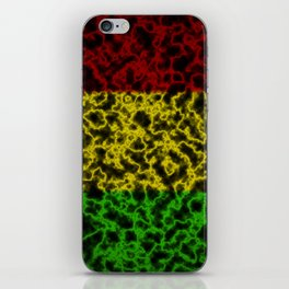 Electric Rasta iPhone Skin
