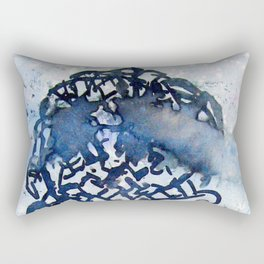 ice cream in the Clouds Rectangular Pillow