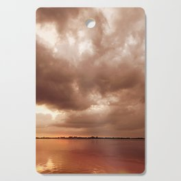 Sunset Storm Cutting Board