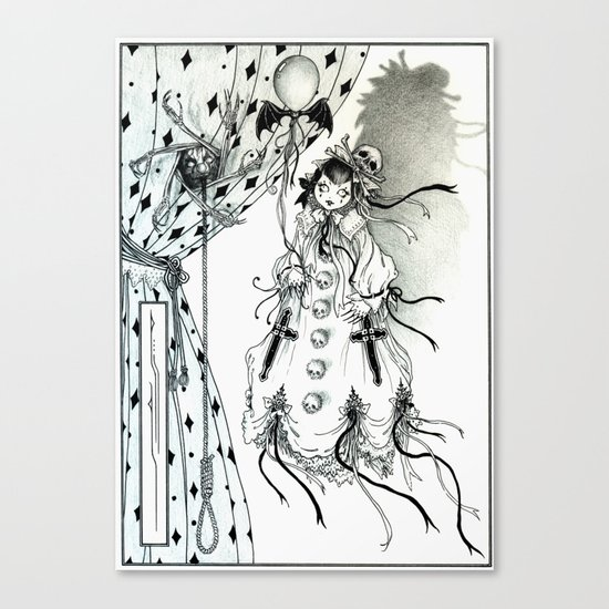Apparitia Doll Canvas Print