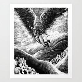 Angel of the Evening Art Print