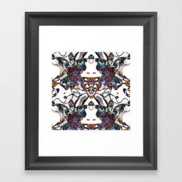 Random #4 Framed Art Print