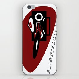 Death To Cassette iPhone Skin
